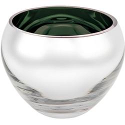 Fink Teelichthalter COLORE (2 Stück), Durchmesser ca. 12 cm silberfarben