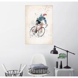 Posterlounge Wandbild, Fahrradfahren 60 cm x 80 cm