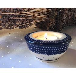 Kerzenständer / Teelichthalter, Ø 8,5 cm, 4 cm ↑, Unikat 18, BSN m-1078