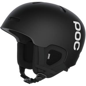 POC Auric Cut - Gut belüfteter, anpassungsfähiger und vielseitiger Skihelm- und Snowboardhelm für perfekten Schutz auf und abseits der Piste, Matt Black, M-L (54-59cm)