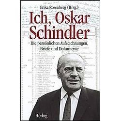 Ich  Oskar Schindler. Oskar Schindler  - Buch
