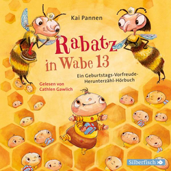 Rabatz in Wabe 13 als Hörbuch CD von Kai Pannen
