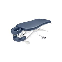 Master Massage Massageliege 74cm TheraMaster™ Flacher Elektrischer Powerlift-Massagetisch Therapieliege-Königsblau