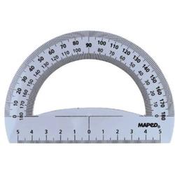 Winkelmesser Halbkreis 12cm