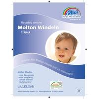 Alvi Molton-Windeln weiß 40 x 40 cm 3 Stück