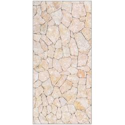 MYSPOTTI Duschrückwand fresh F3 Natursteinwand Beige, 100 x 210 cm natur 100 cm