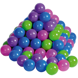 Knorrtoys® Bällebad Bälle für Bällebad, 100 St., pastell