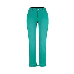 Deerberg Damen Slim-Fit-Jeans Melonie smaragd-washed
