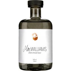Mrs. Williams williams christ pear liqueur