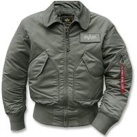Alpha Industries CWU 45 Jacke repl.-grey, Größe XXL