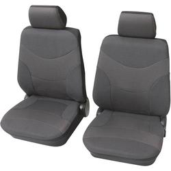 Petex 23491501 Vesuv Sitzbezug 6fach Polyester Grau Fahrersitz, Beifahrersitz