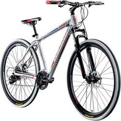 Galano Ravan 29 Zoll Mountainbike MTB Hardtail Fahrrad 24 Gänge Bike 3 Farben... 48 cm, silber