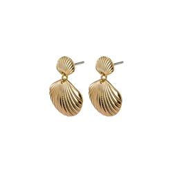 Pilgrim Damen Ohrstecker gold, Größe One Size, 4737561