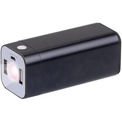 USB-Powerbank mit 8.000 mAh und LED-Taschenlampe, 2,1 A, 100 Lumen