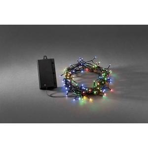 Konstsmide 3729-500 Micro-Lichterkette 120 LED Bunt Beleuchtete Länge: 12m