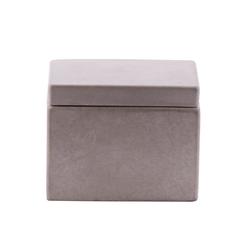 houseproud Aufbewahrungsbecher Cubic Concrete Kosmetikdose, Beton