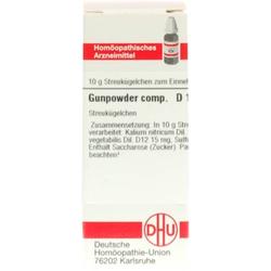 GUNPOWDER comp.D 12 Globuli