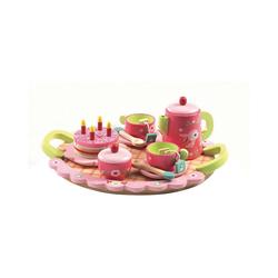 DJECO Spielgeschirr Rollenspiel - Lili Rose's Tee Party bunt