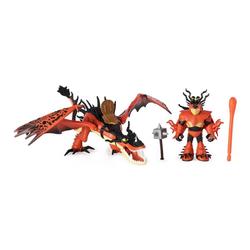Spin Master Actionfigur Drachenreiter Rotzbakke und Hakenzahn