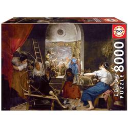Educa Puzzle LAS HILANDERAS, VELÁZQUEZ, 8000 Puzzleteile
