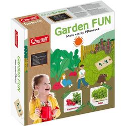 Quercetti Kinder-Gartenset Garden FUN Pflanzset Radieschen/Salat