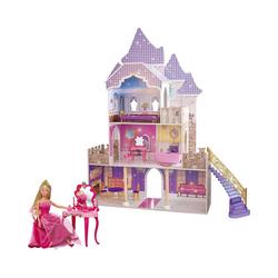Eichhorn Puppenhaus Großes Puppenschloss + Gratis Steffipuppe