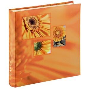 "Hama Jumbo-Album ""Singo"", 30x30 cm, 100 weiße Seiten, Oran Buch-Album orange"
