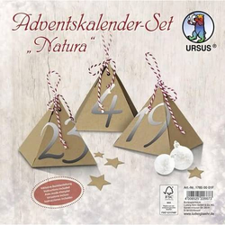 Adventskalender-Set 'Natura'