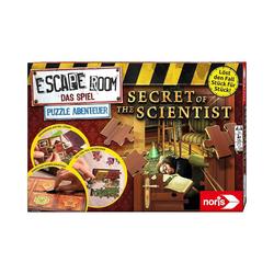 Noris Puzzle Escape Room Das Spiel Puzzle Abenteuer, Puzzleteile