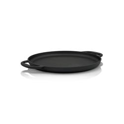 BBQ-Toro Grillplatte BBQ-Toro Gusseisen Grillpfanne Ø 35 cm - Servierpfanne, Grillplatte
