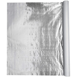 BMD Aluminium Dampfsperrfolie 1,50m x50m (75qm) Dampfbremsfolie für Dächer Dachgeschosse Decken Böden Wände