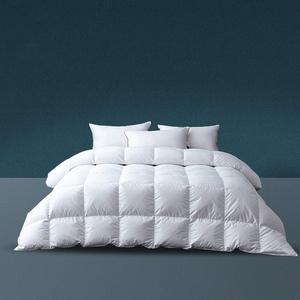 Komfort Winter Daunendecke 135x200cm Warm 100%Baumwolle Hochwertige Füllung:80% Gänsedaunen Füllgewicht 900 Gramm Bettdecke 135x200cm Weiß