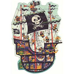 Riesen-Puzzle Piratenschiff, 36 Teile