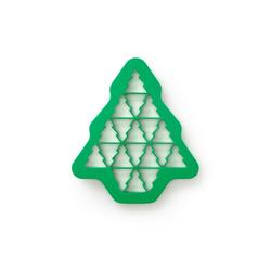 LEKUE Ausstechform Cookie Puzzle grün