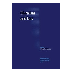 Pluralism and Law - Buch