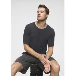 Nike Yogashirt Dri-FIT Men's Yoga Training Top schwarz Herren