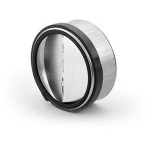 Rückstauklappe verzinkt Ø 125a mm zum Einsetzen in Lüftungsrohr / Einbauklapp...