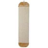 TRIXIE Kratzbrett mit Plüsch XL 18 x 78 cm beige