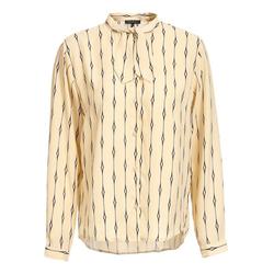 Apart Klassische Bluse mit einem originellen Muster mit einem originellen Muster 42
