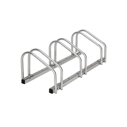 tectake Fahrradständer Fahrradständer grau 3