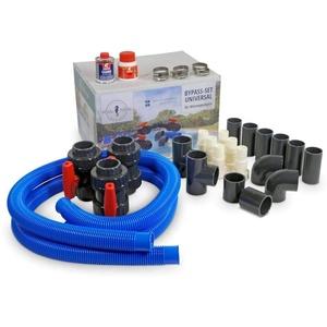 Bypass-Set UNIVERSAL für Wärmepumpen oder Solaranlagen/Bypass für Pool, Schwimmbad, Schwimmbecken