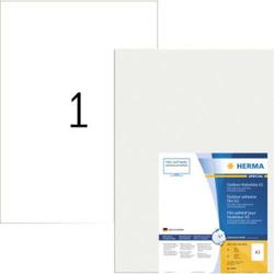 Herma 9544 Etiketten (A3) 297 x 420mm Folie, matt Weiß 40 St. Extra stark haftend Folien-Etiketten