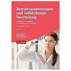 Betriebsanweisungen und Gefährdungsbeurteilung  m. 1 CD-ROM. Ute Stapel  - Buch