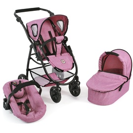 Bayer Chic 2000 Emotion 3 in 1 All In jeans pink