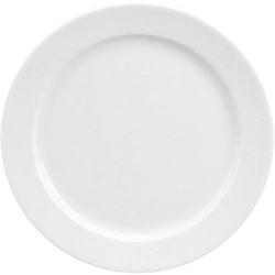 Teller flach 24cm Form 898 - uni weiß Schönwald Porzellan