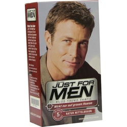 JUST for men Tönungsshampoo mittelbraun 60 ml