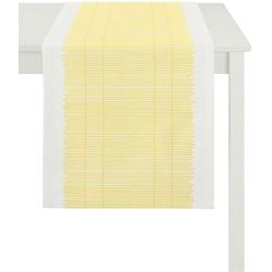 APELT Tischläufer 3033 Loft Bambusmatte (1-tlg) gelb