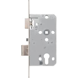 ABUS Einsteckschloss TKZ40 PZ, DIN links/rechts, Dornmaß 55 mm, mit automatischer Verriegelung