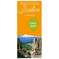 EASY MAP Sizilien 1:500.000