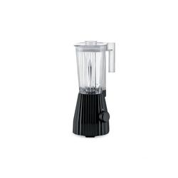 Alessi Standmixer Standmixer Plissé - Farbwahl, EU Stecker, Elektrische Leistung 700 Watt schwarz